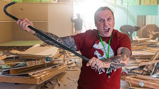 REPTILE ZOO RENOVATION!! DAY #1 | BRIAN BARCZYK