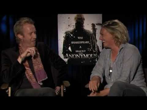 ANONYMOUS Interviews with Rhys Ifans, Jamie Campbell Bower, Joely Richardson and Roland Emmerich