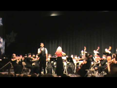 """Trevor Dunn and the Clackamas High School Orchestra, """"Red Hills of Home"""""""