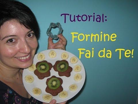 TUTORIAL Formina per biscotti FAI DA TE!