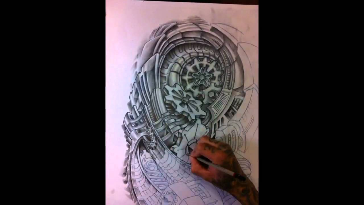 Gear Tattoo Drawing France Drawing a TattooGear Tattoo Drawing