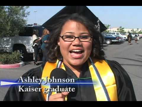 Kaiser High School graduation ceremony 2012