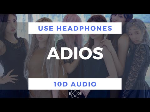 Download EVERGLOW - Adios 10D Audio Mp4 baru