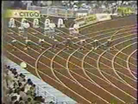 1998 Goodwill Games (100m Final) - Maurice Greene/Donovan Bailey/Ato Boldon/Bruny Surin - New York