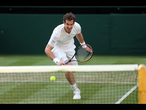 Highlights Day 5: Murray cruises past Bautista Agut - Wimbledon 2014
