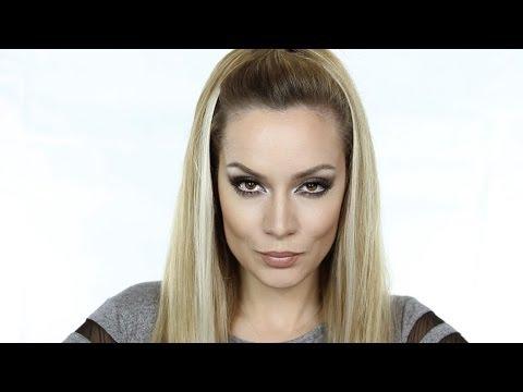 JLo inspired MakeUp Tutorial | Jennifer Lopez Contour & Highlight