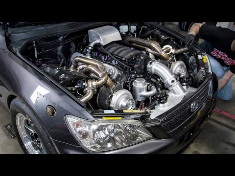 Monster Twin Turbo Lsx Is300 At Tx2k14 video