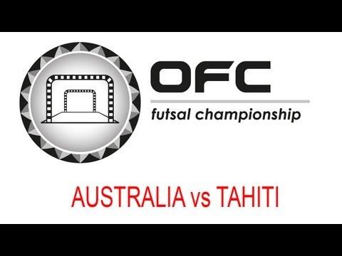 2013 OFC Futsal Championship Invitational Match Day 3 Australia vs Tahiti
