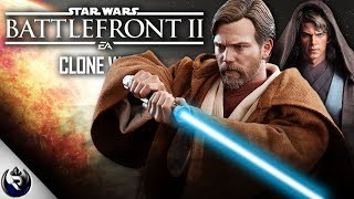 NEW Heroes! - Clone Wars Content in Star Wars Battlefront 2 (Anakin Skywalker, Obi Wan Kenobi)