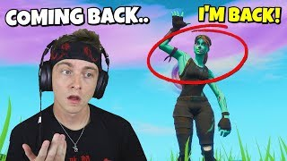 my reaction to ghoul trooper coming back to fortnite this halloween…