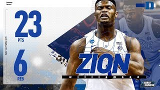 Zion Williamson's one-man highlight show in Sweet 16