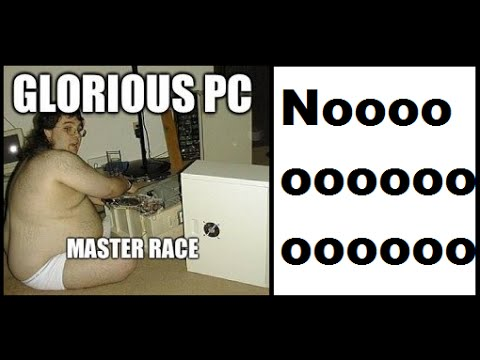 WTF!!! StonefoxMedia Will Try A PC Game!!! PC Master Race