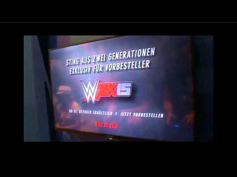 WWE 2K15 Gameplay / Full Matches from Gamescom 2014