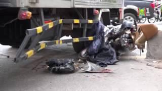 Hà Nội: Tai nạn trên làn đường BRT Giảng Võ   HANOITV