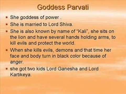 Hindu Gods Ganesh Brahma Vishnu Shiva Rama Krishna Goddess Youtube
