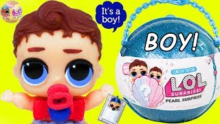 BIG Can Do Baby Gets New Lil Brother LOL Surprise Dolls Boy + Custom Lil Punk Boi Unicorn Stroller