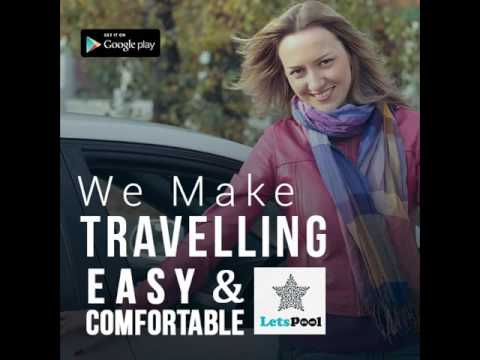 LetsPool - Feature Rich Android app for Car/ Bike Pooling in India