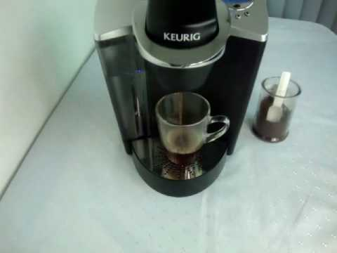 Coffee pod filter cup for Keurig coffee machine
