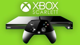 OFFICIAL NEXT GEN XBOX DETAILS REVEALED! (Project Scarlett News/Footage)