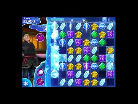 Disney Frozen Free Fall - Level 85 [Gameplay Walkthrough]