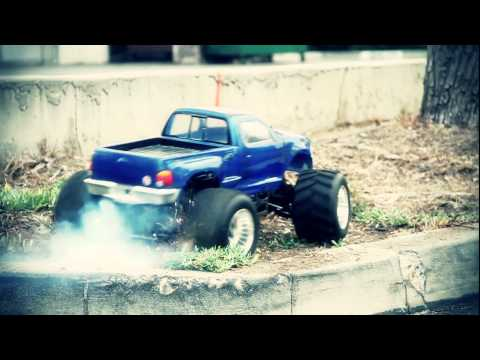 FG 1/5 scale RC truck demo