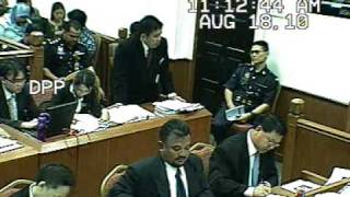 Malaysia's funniest and tragic court video (Part 1 of 8)