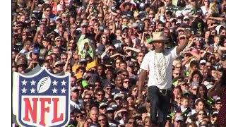 Pharrell Video - Pharrell Happy, Blurred Lines, Get Lucky Live Seat