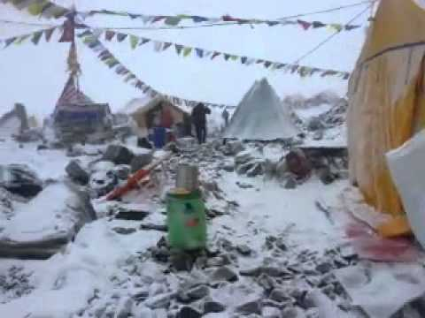 Avalanche during 2015 Nepal earthquake