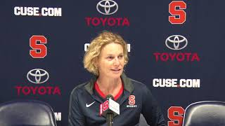 Ange Bradley Postgame Press Conference | Pacific