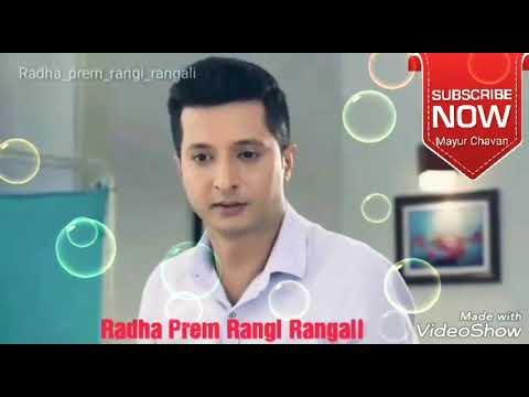 Radha prem rangi rangali||marathi love whatsapp status video||by mayur chavan