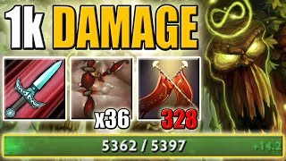 Duel + Flesh Heap [1k Damage Right Click with 5k HP Treant] Dota 2 Ability Draft