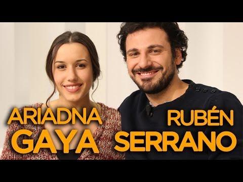 Ariadna Gaya y Rubén Serrano de El Secreto de Puente Viejo - VIDEOENCUENTROS