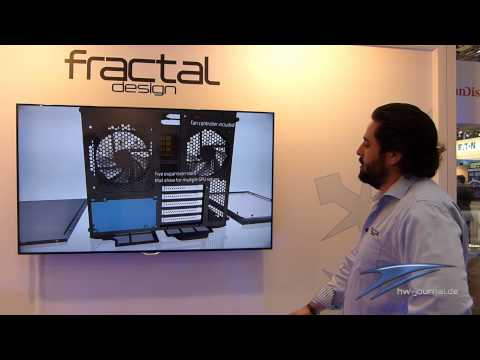 Cebit 2014: Fractal Design Node 804 im Hands on - german/HD