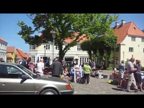 Weekend Trip On Bicycle To Aeroe, Denmark