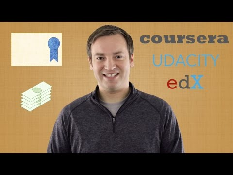 The Best Open Online Courses - Coursera. Udacity. edX Review