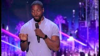 Comedian Preacher Lawson: Simon Cowell PREDICTS He Will Be Famous! | America's Got Talent 2017