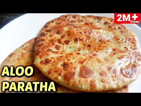बिना आलू को भरे आलू पराठा बनाने का बिल्कुल नया और आसान तरीक/|Aloo Roti/Aloo Paratha Breakfast Recipe