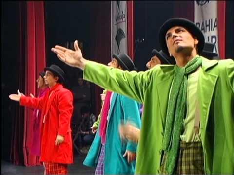 Comparsa - La Milagrosa \ Actuación Completa en SEMIFINAL \ Carnaval 2000