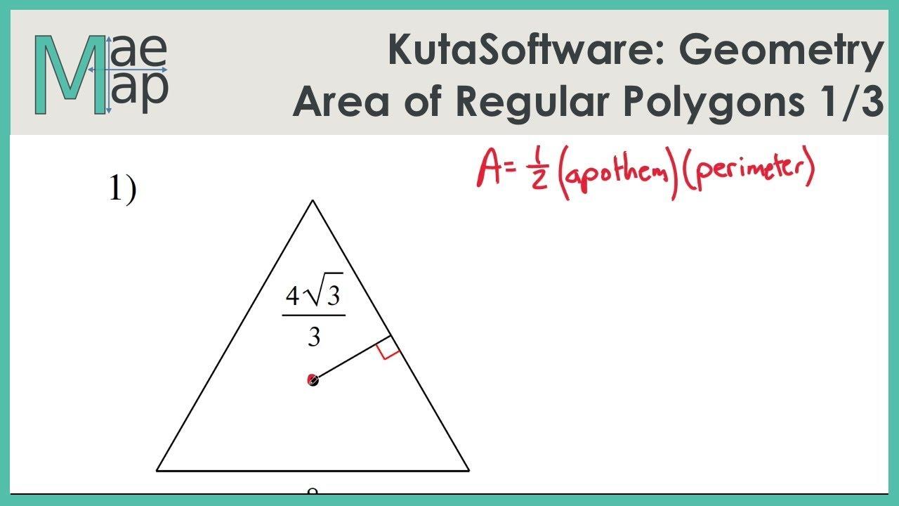 Area of polygons kuta software