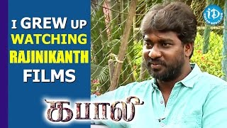 I Grew up watching Rajinikanth Films - Kabali Cinematographer G.Murali | Kollywood Talks With iDream