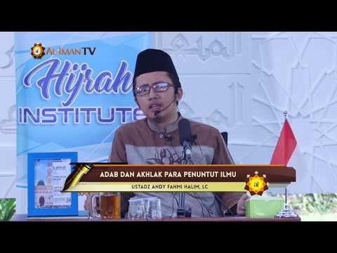 Daurah Pemuda: Adab & Akhlak Penuntut Ilmu - Ustadz Andy Fahmi, Lc