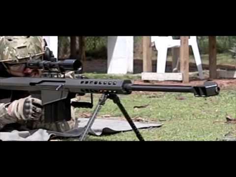 マック堺が撃つ!! バレットM82A1 グアム実弾射撃 ワールドガン