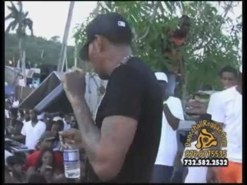 Vybz Kartel & Di Gaza Family Live In St Mary @ Passa Passa 7th Anniversary SEPT 2010 Pt 5