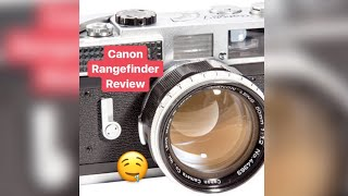Canon Rangefinder Review 50mm 1.2 Canon 7s
