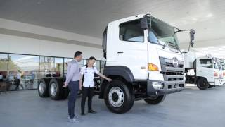 HINO VICTOR 500 Introduce delivery truck to customers