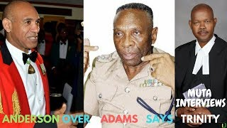 No SUPPORT for ADAMS!!! Keith TRINITY Gardner backs MILITARY Man for Commissioner - Teach Dem