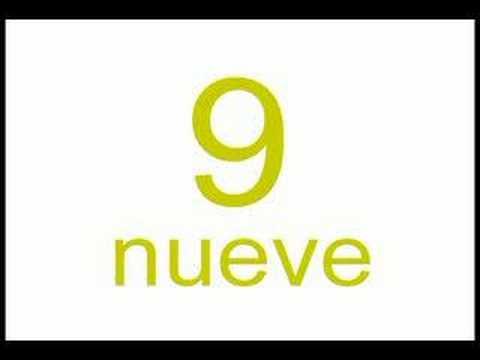 Spanish Numbers 0-9
