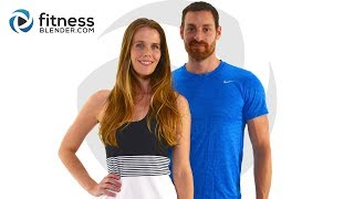 10 Minute Abs Workout with Kelli and Daniel - At Home Abs Workout with no Equipment