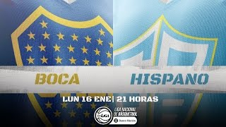 Liga Nacional: Boca vs Hispano   LaLigaEnTyC