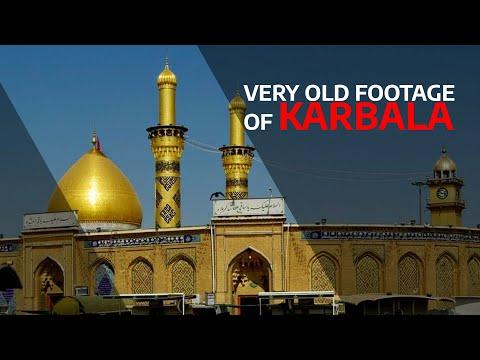 Imam Hussain & Hazrat Abbass Shrine Karbala امام حسین حضرت عباس video
